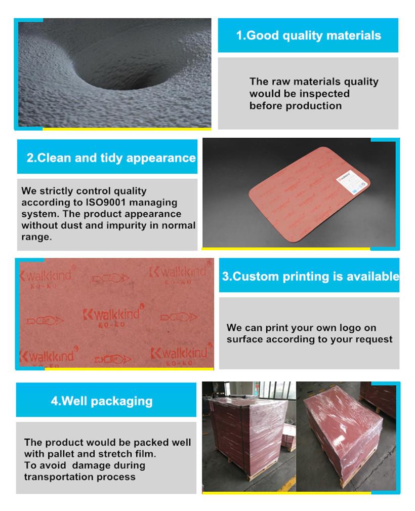 Purplish Red Paper Shoe Insole Shank Board KO-3