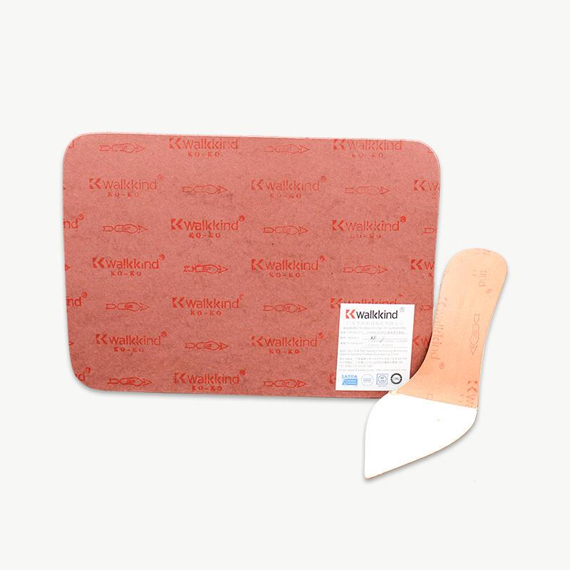 Purplish Red Paper Shoe Insole Shank Board KO