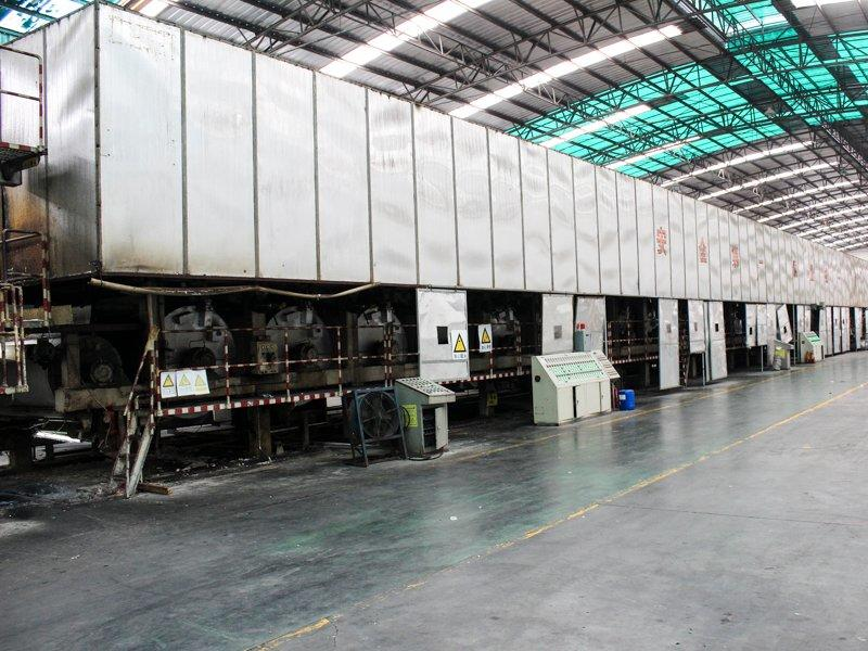 Paper insole board production line