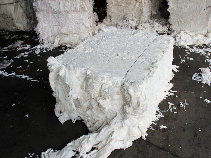 Paper insole board raw material