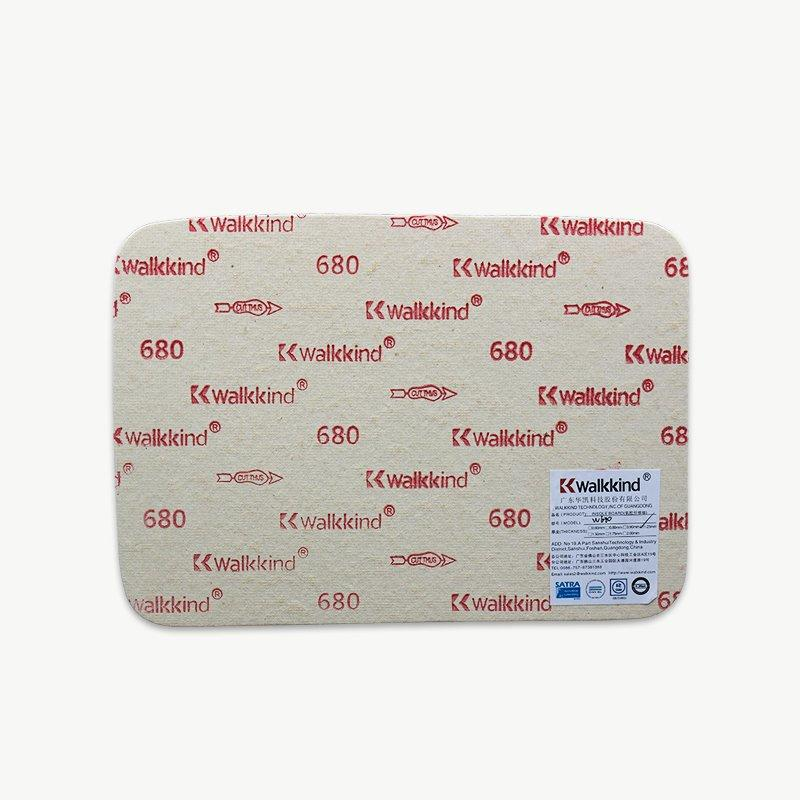 Light Yellow Fiber Shoe Insole Board WK680