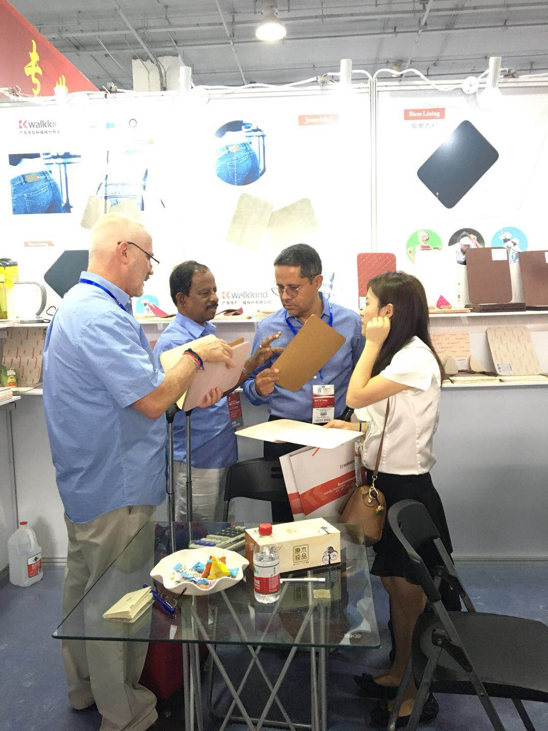 Walkkind-News About Walkkind Company Attend The 23th China (Wenzhou)International Shoe And Leather F-2