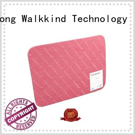 Walkkind brown sheet shank with custom logo for shoes